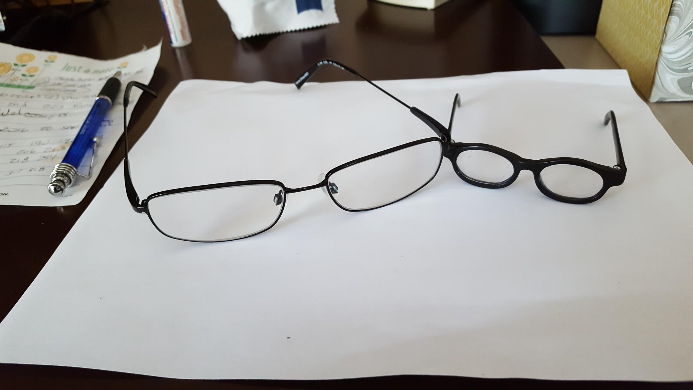 lunettes et lentilles